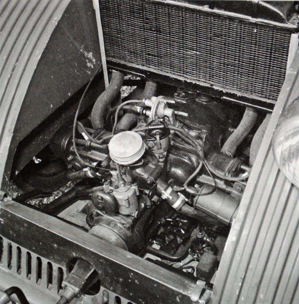 1939 Citroen 2CV engine