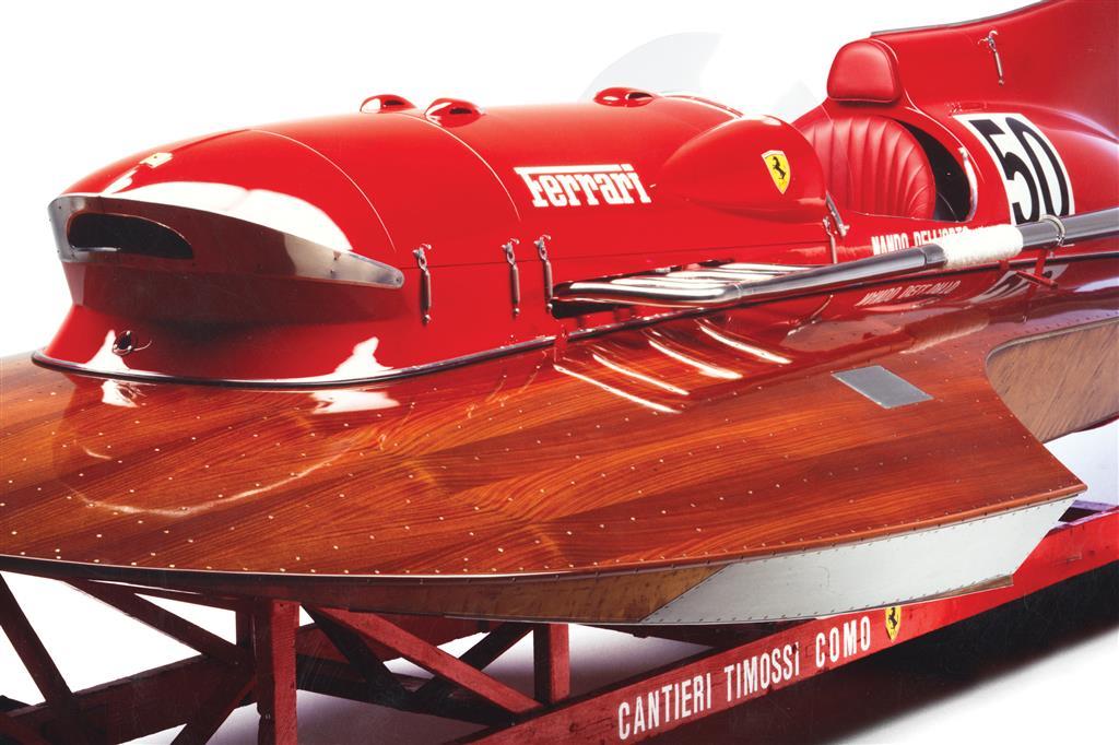 Ferrari's F1-powered Arno XI boat was a record-breaker