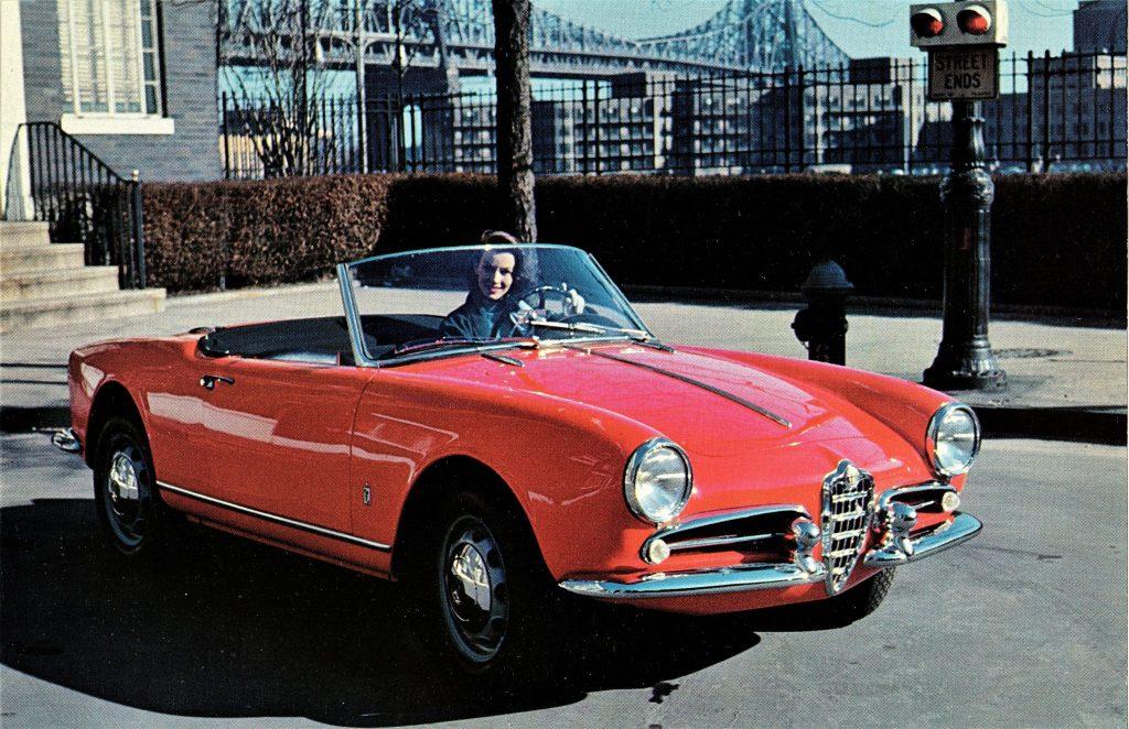 1955_Alfa_Romeo-Giulietta_Spider is one of Paolo Pininfarina's favourite designs