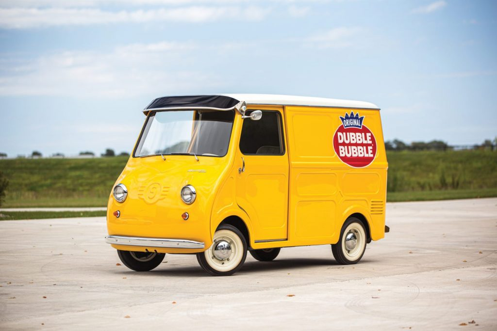 1958 Goggomobil TL250 Transporter with Dubble Bubble livery