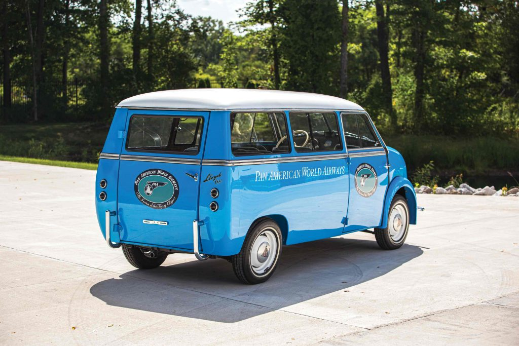 "1960 Lloyd LS 600 Kombi ""Pan Am"""