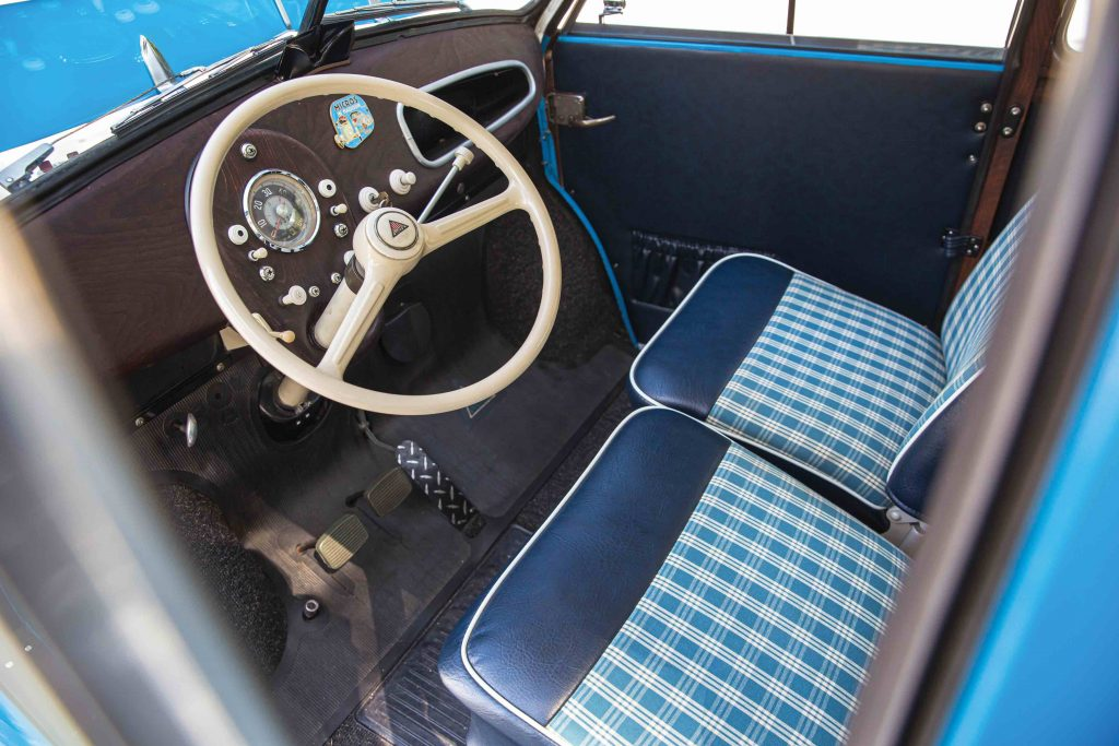 "1960 Lloyd LS 600 Kombi ""Pan Am"" interior"