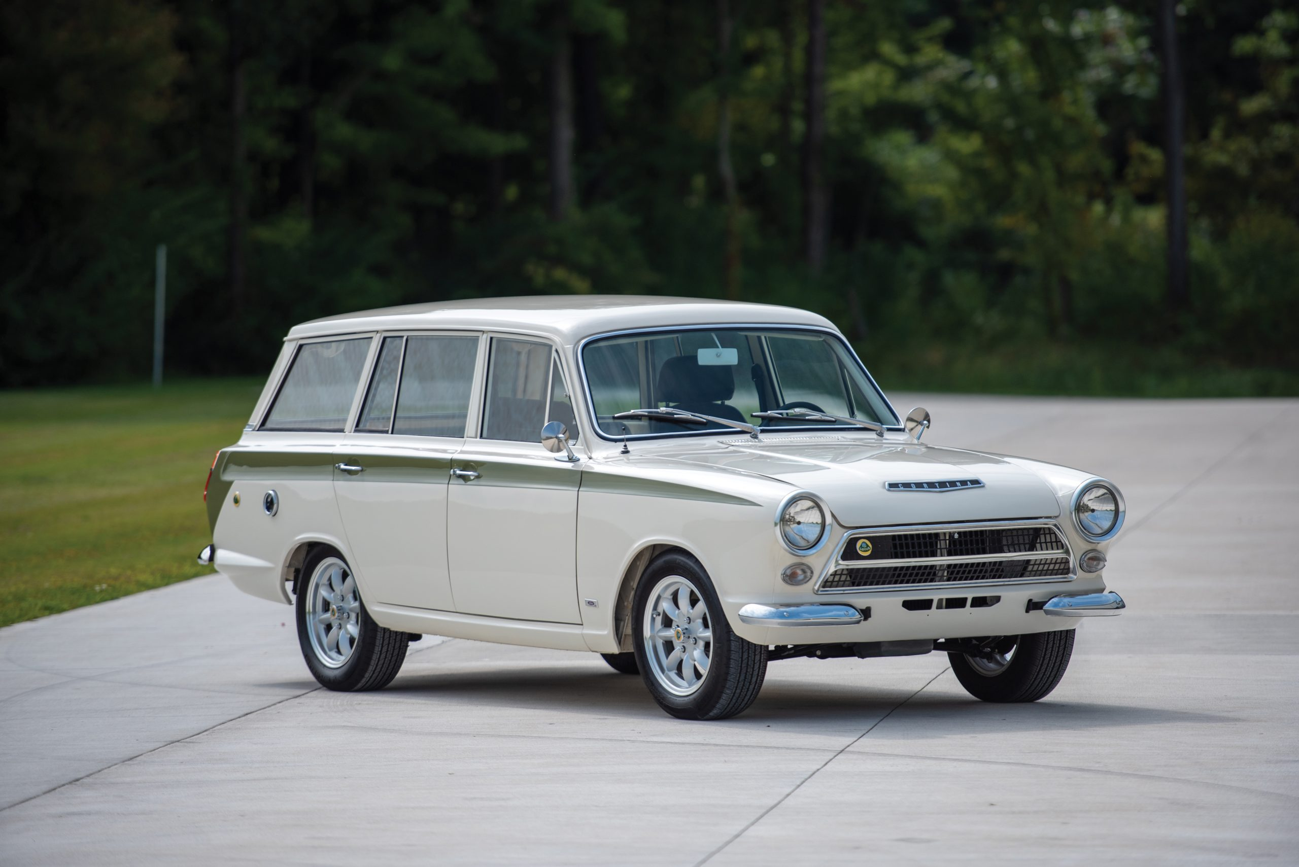 Drifting to the poodle parlour: Rare Lotus Cortina estate up for grabs