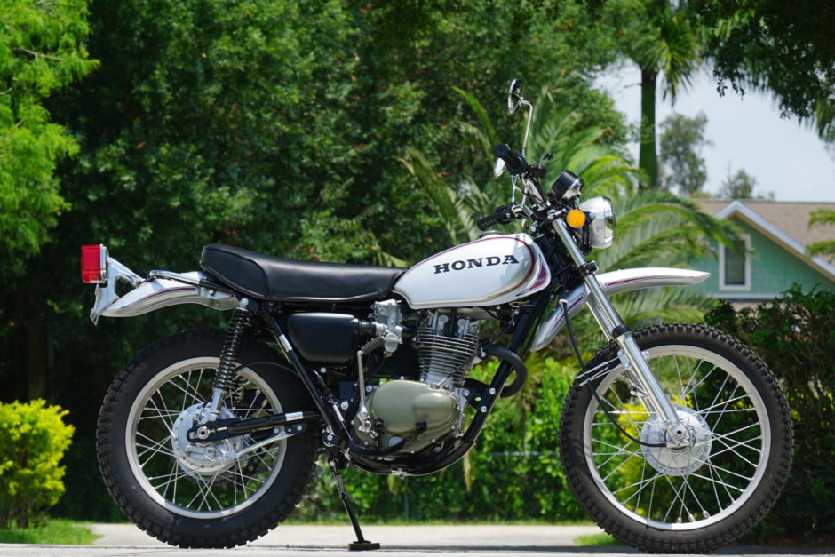 Seven trail bikes to collect_Honda XL250