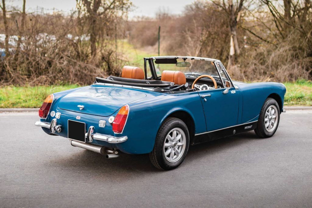 Valuations for the MG Midget classic roadster