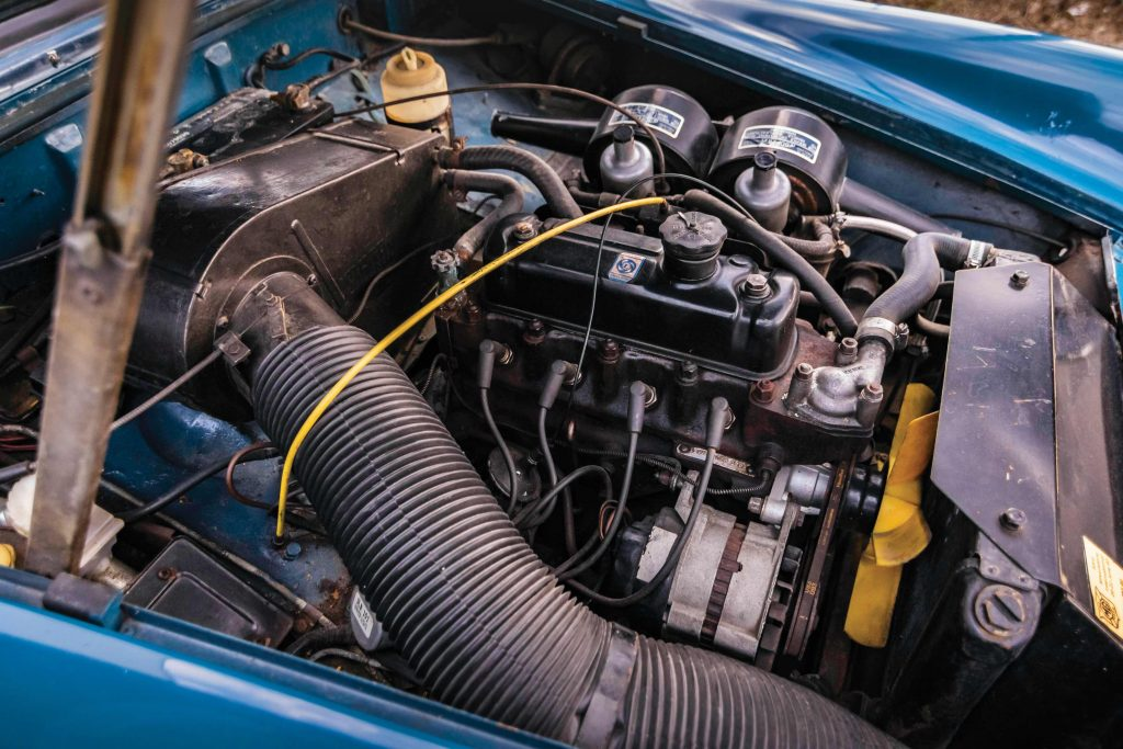 MG Midget engine_servicing and costs