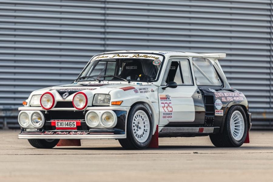 1984 Renault 5 Maxi Turbo Ex-John Price
