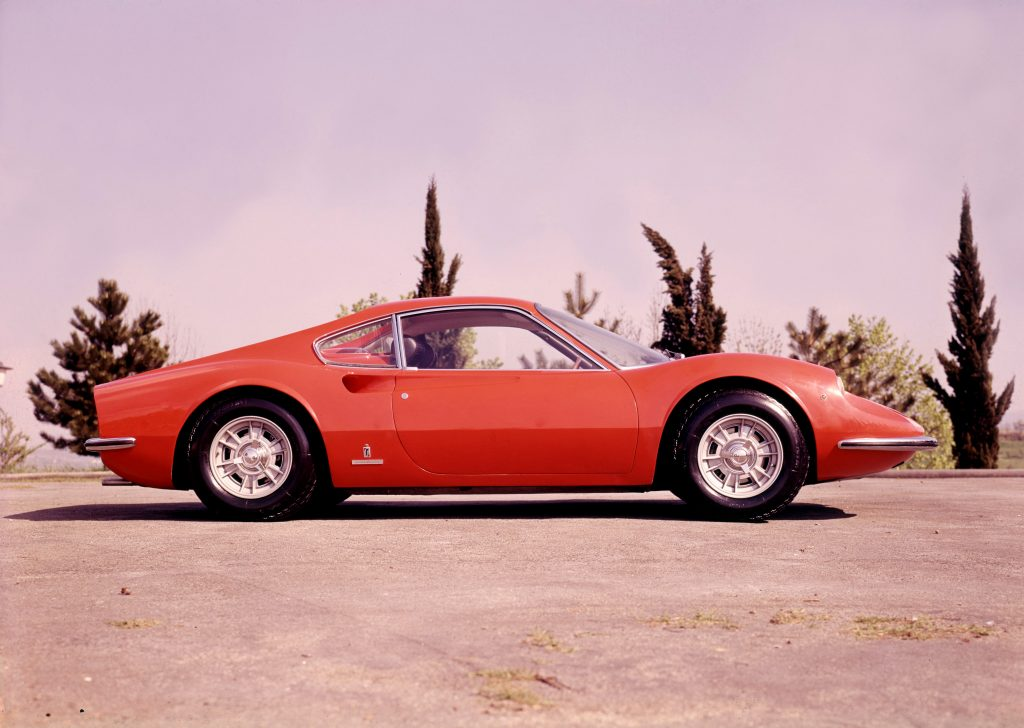 The Dino 206 GT from the 1967 Turin motor show