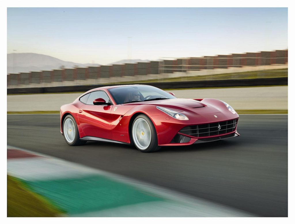 The Ferrari F12 was the final car to bear the Pininfarina name