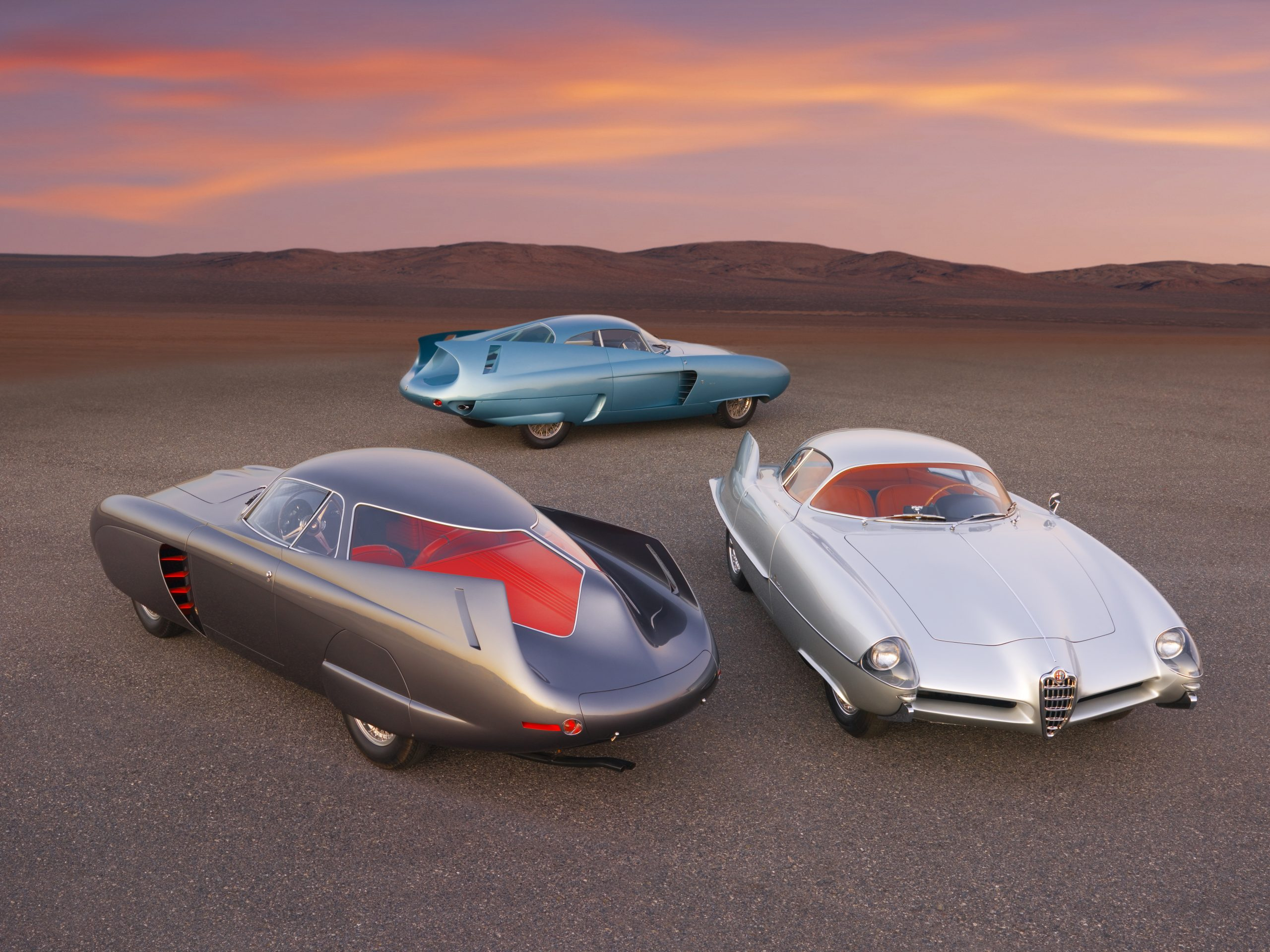 Bertone's trio of BAT Alfa Romeo concept cars could fetch £15m at auction