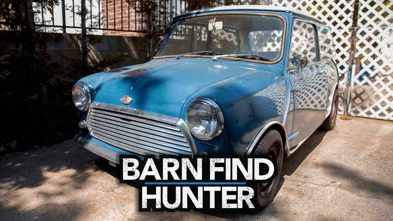 Missing in action: Tom Cotter meets a Mini Cooper that was lost for five years | Barn Find Hunter