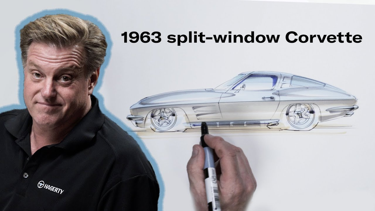 Reimagining the Chevrolet Corvette C2 | Chip Foose Draws a Car