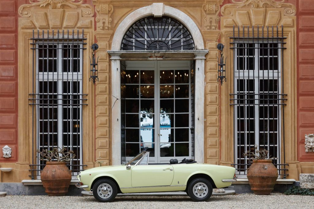 Fiat 124 Sport Spider is one of Paolo Pininfarina's favourite designs
