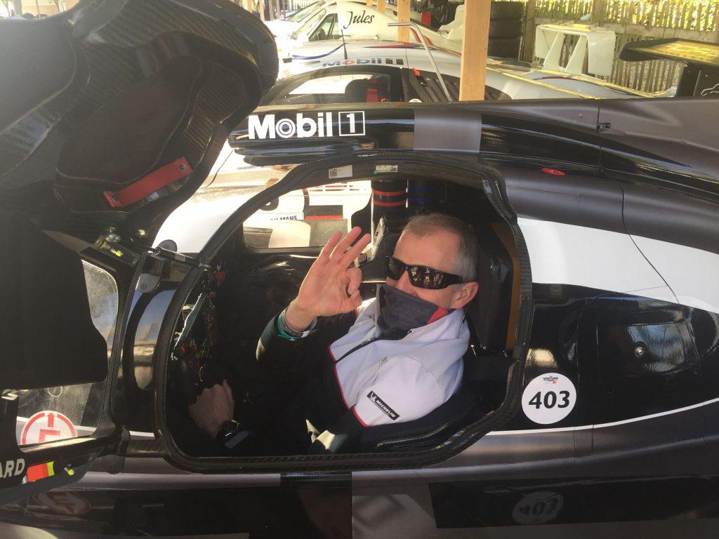 Eddie Coor in a Porsche GT1 at Goodwood_Unsung Heroes_Hagerty