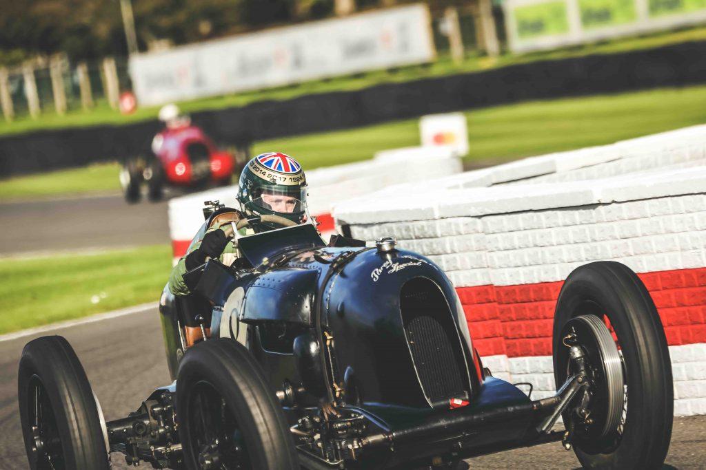 Vintage Bentley at Goodwood
