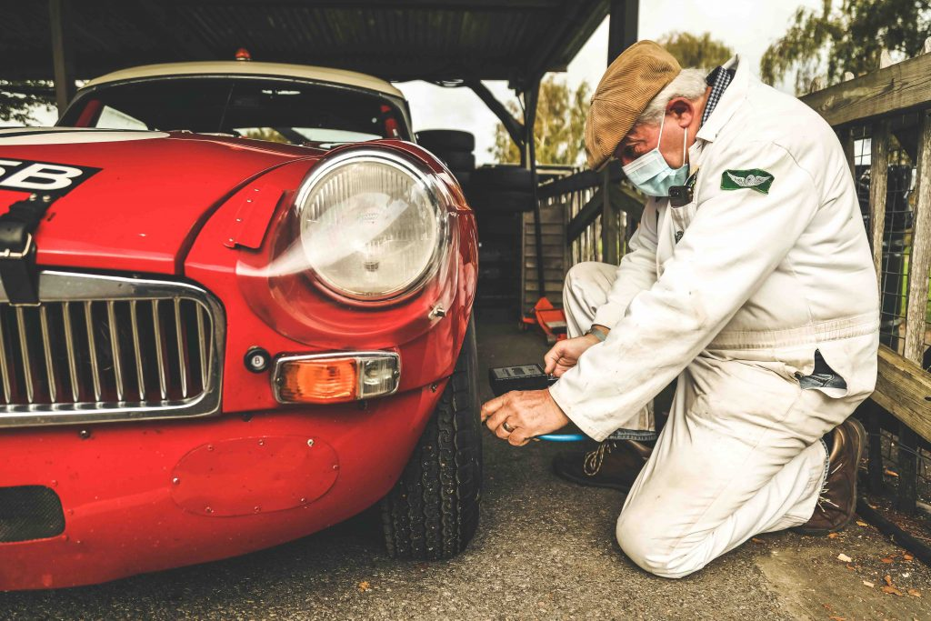 Roy Gillingham founder of Chequered Flag Motorsport_Hagerty