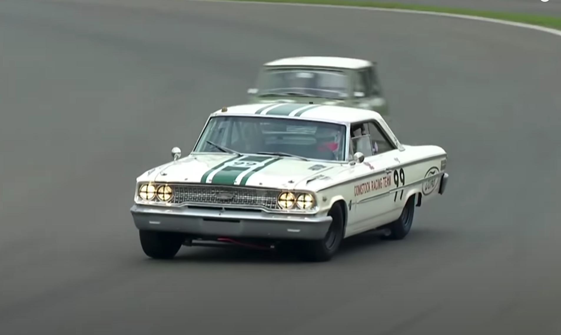 Epic Ford Galaxie battle is the highlight of Goodwood SpeedWeek