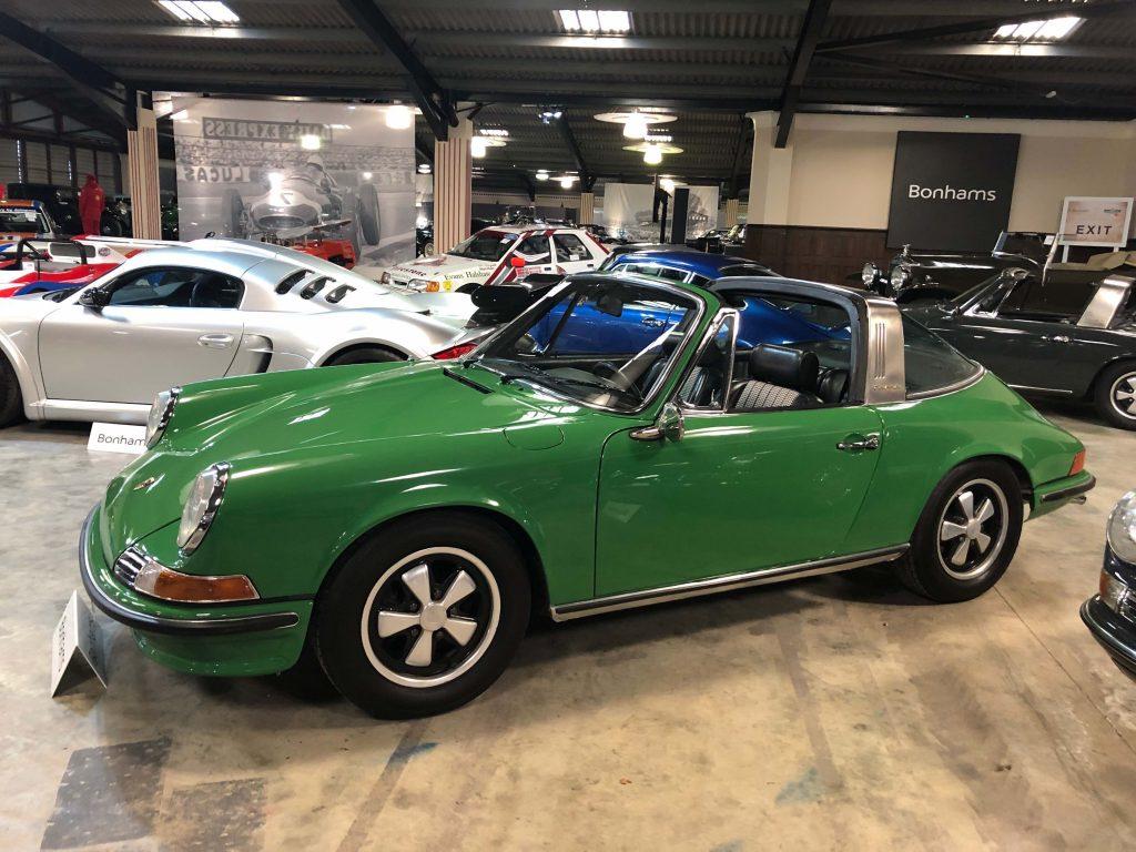 Porsche 911 Targa at 2020 Bonhams Goodwood Speedweek auction