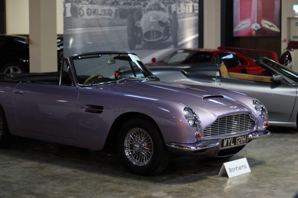Aston Martin DB6 Volante Bonhams auction Goodwood Speedweek 2020
