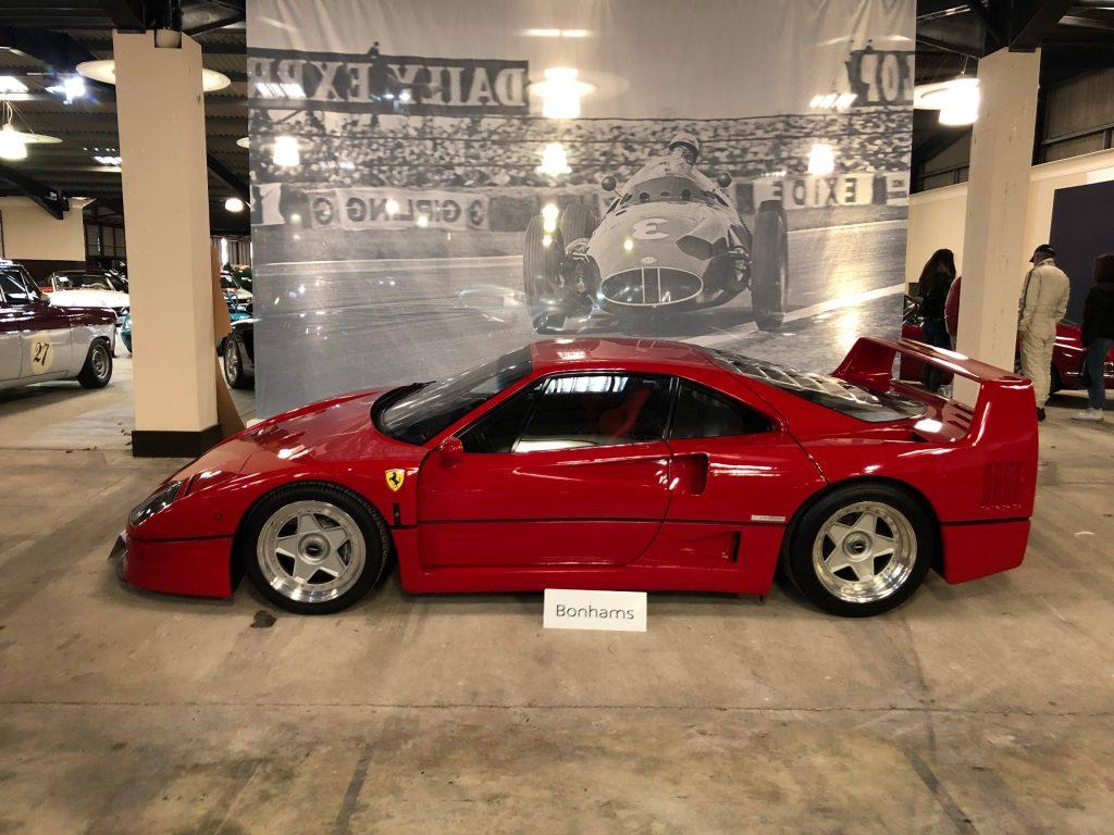 Ferrari F40 at Bonhams Goodwood Speedweek auction 2020