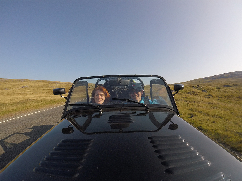 Driving seven of Britain's best roads in a Caterham 7 is the ultimate father-son roadtrip