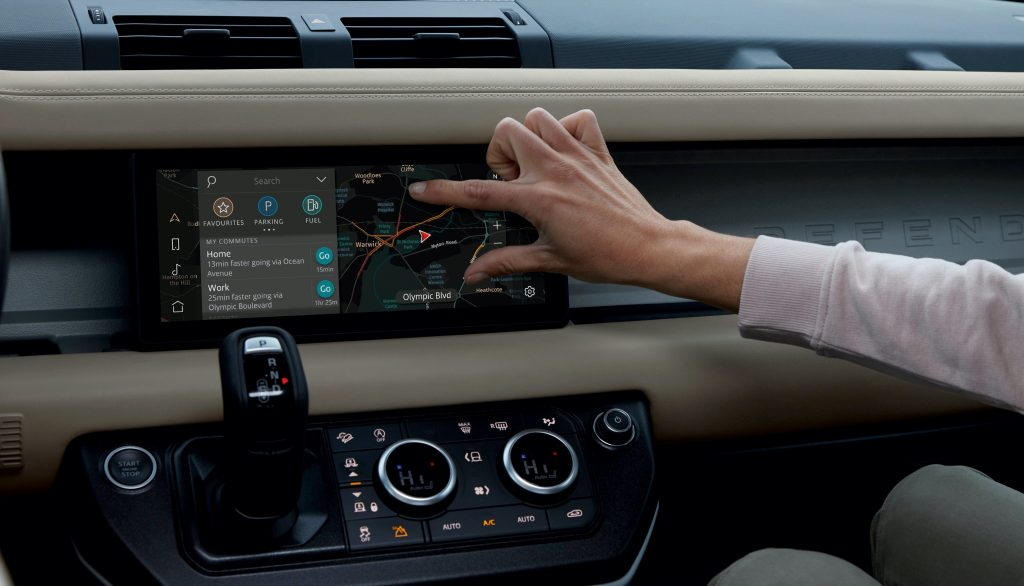 Jaguar Land Rover Pivo Pro