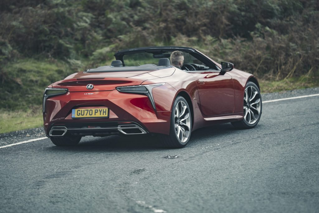 The grandest of Grand Tours: Lexus LC500 Convertible review