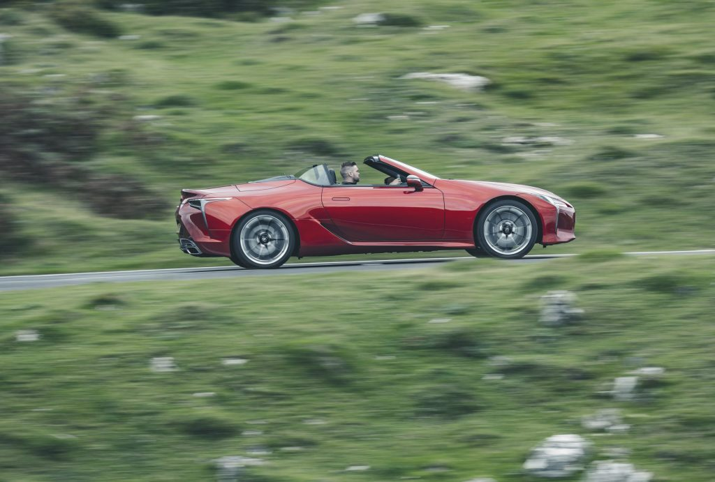 James Mills reviews the Lexus LC500 Convertible for Hagerty