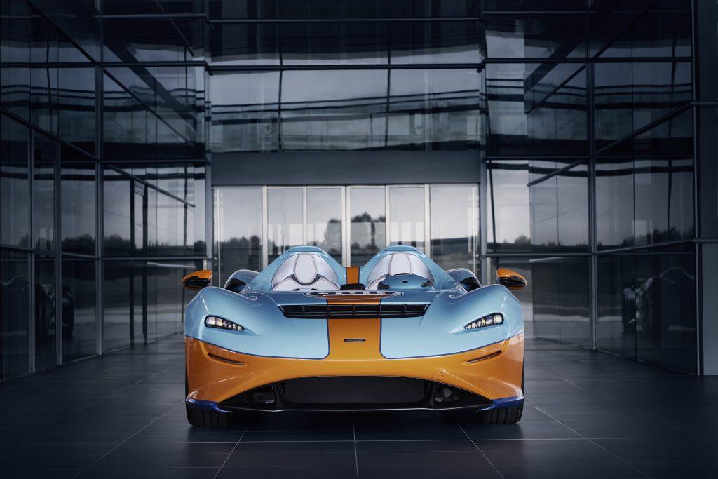Ice-cool Gulf McLaren Elva debuts at Goodwood SpeedWeek