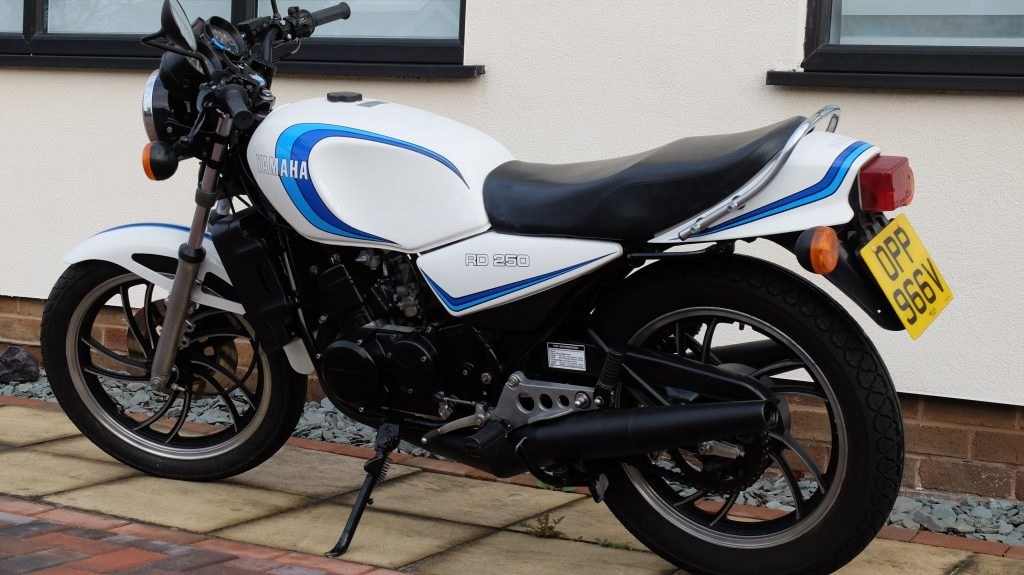 Mike Davies and the appeal of his Yamaha RD250LC