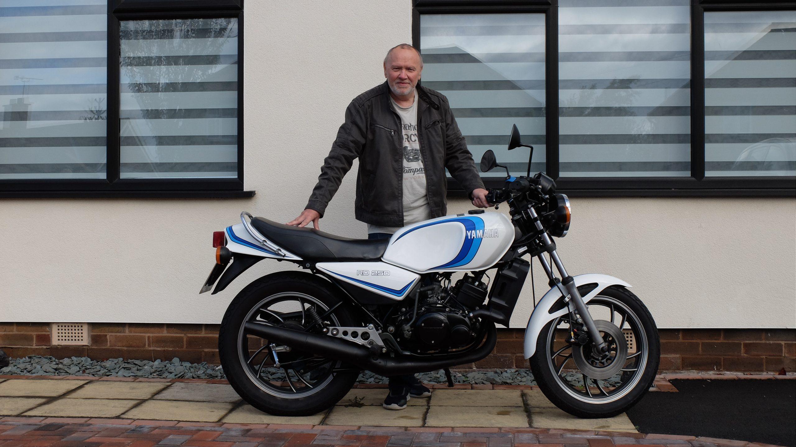 Your Classics: Mike Davies, 1980 Yamaha RD250LC