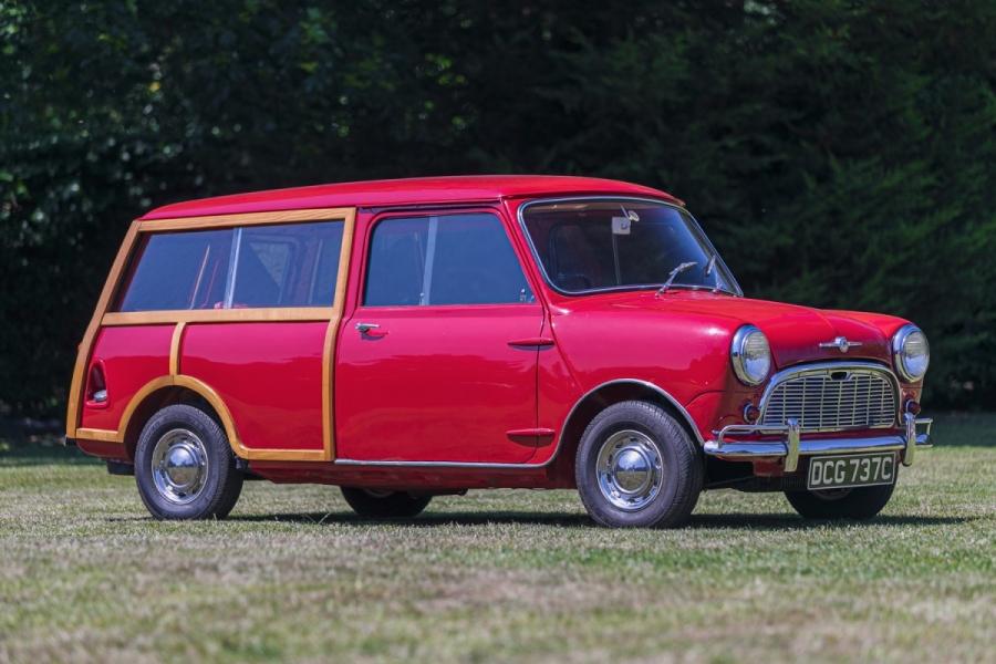 Lord Mountbatten's Mini Morris Traveller