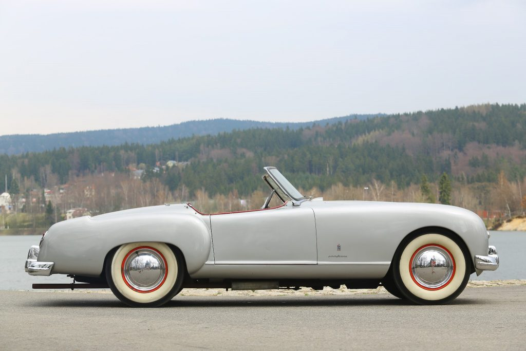 1951 Nash-Healey Spider is one of Paolo Pininfarina's favourite designs