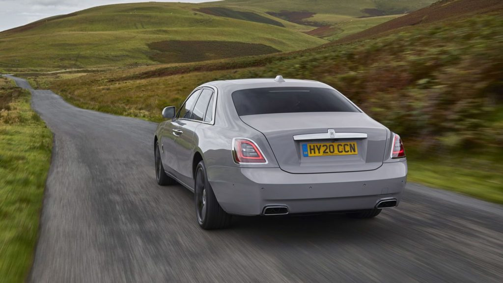 New Rolls-Royce Ghost rear view