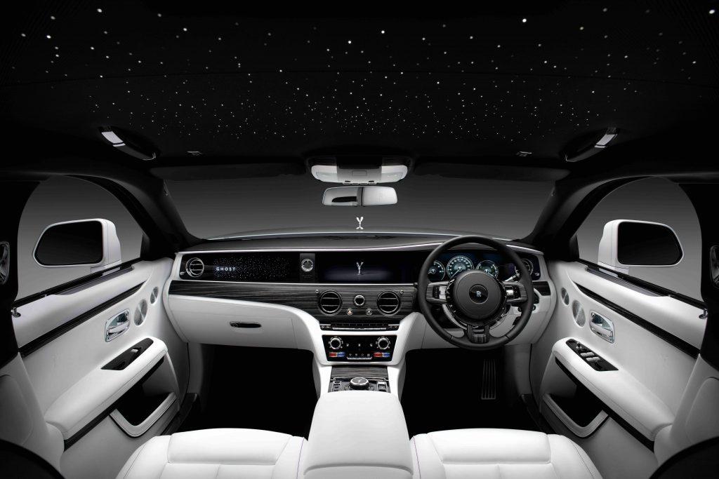 2021 Rolls-Royce Ghost dashboard