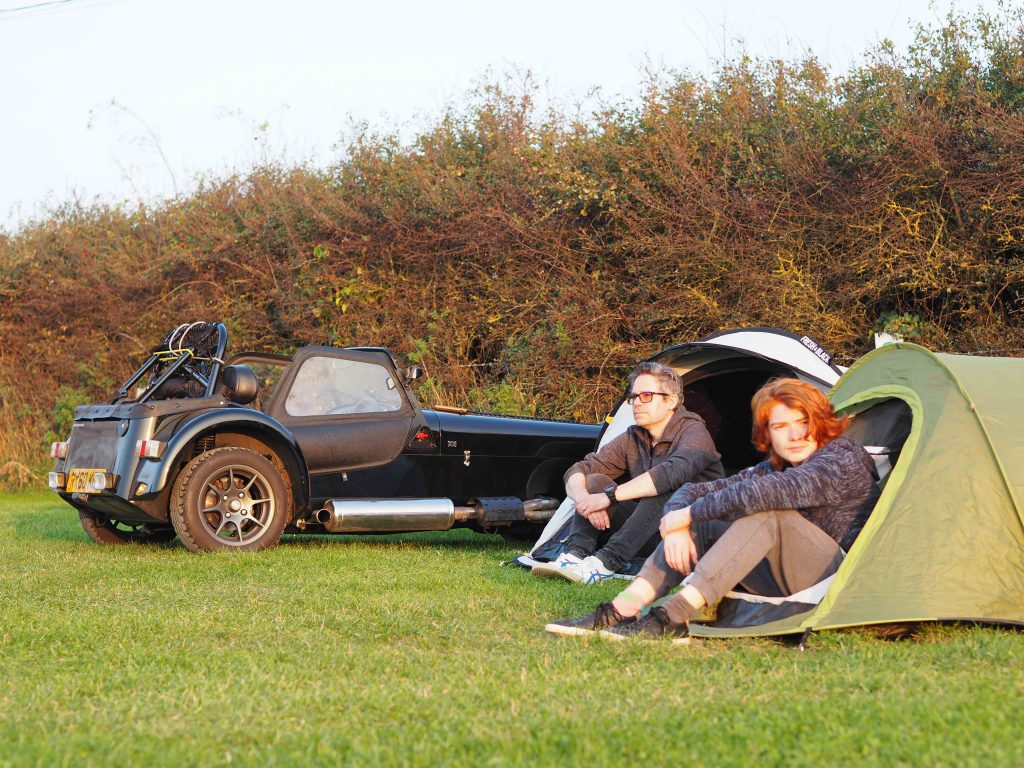Nik and Max Berg drive seven of Britain's best roads by Caterham 7