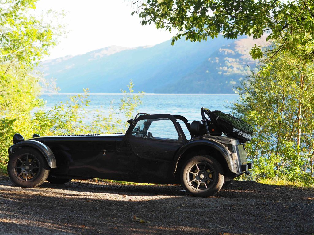 Packing a Caterham 7 for a seven day roadtrip