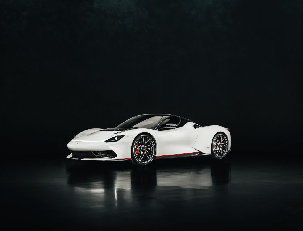 Pininfarina Battista is the first electric hypercar from theItalian styling house