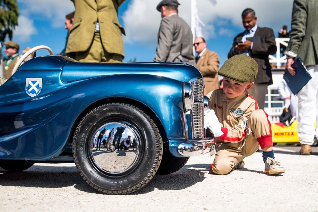 getting the look at Goodwood Revival