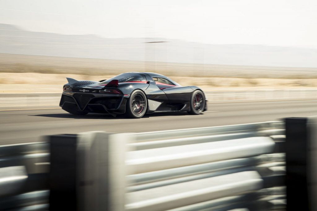Behind the scenes of the SSC Tuatara's 316mph top speed record run