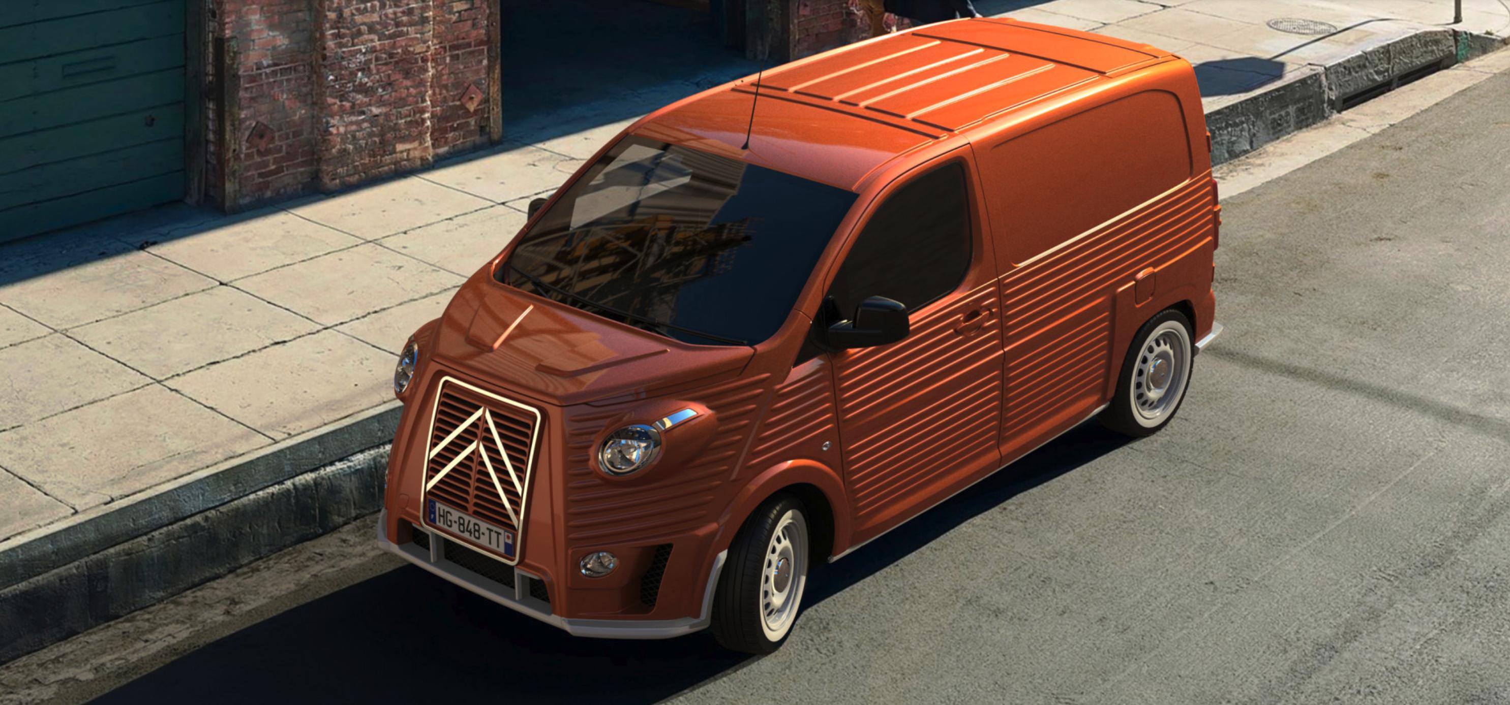 Italian coachbuilder expands its range of retro Citroën Type H vans
