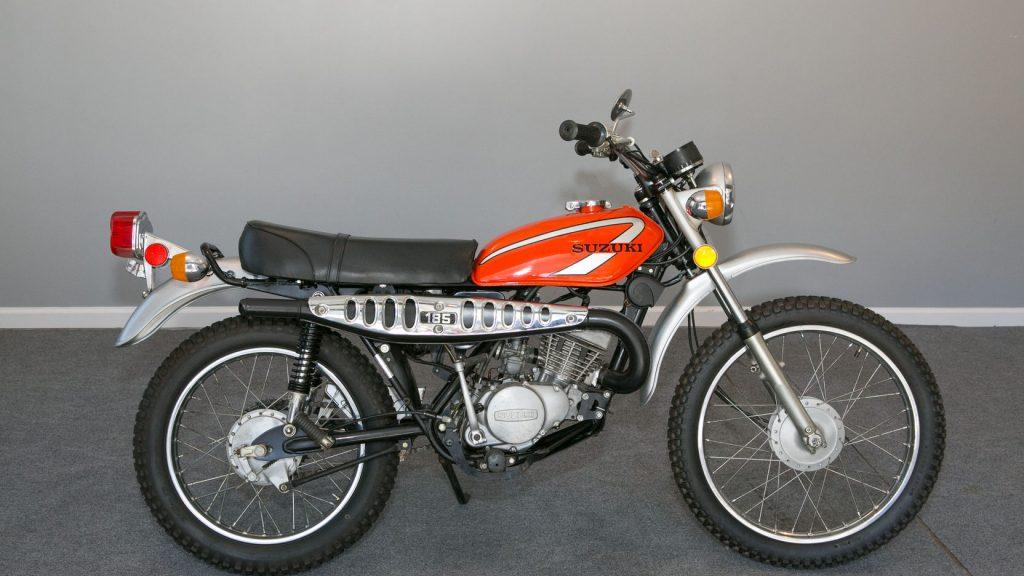 Seven classic trail bikes to collect_Suzuki TS185