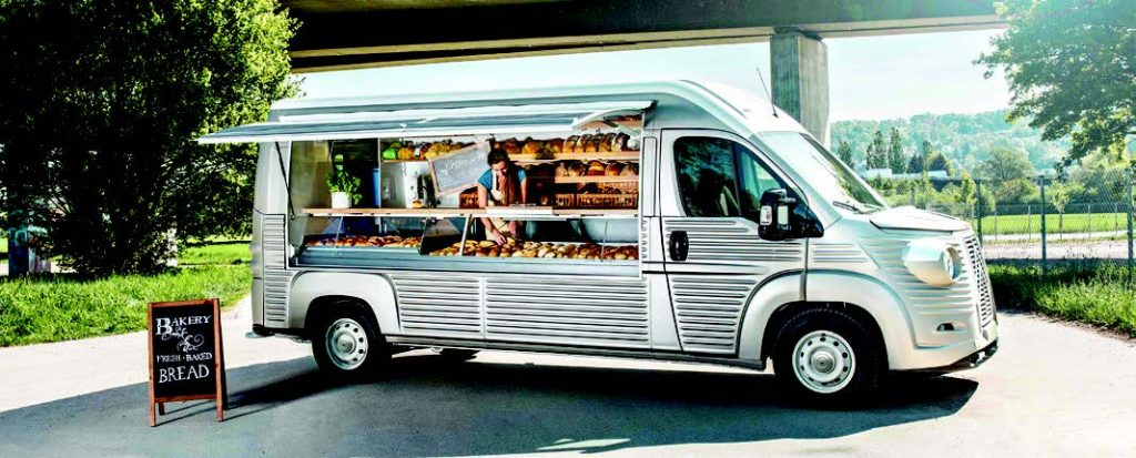 Carosserie Caselani Citroen Type H vans
