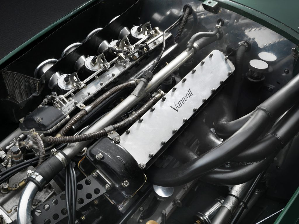 Four-cylinder engine of Vanwall continuation car
