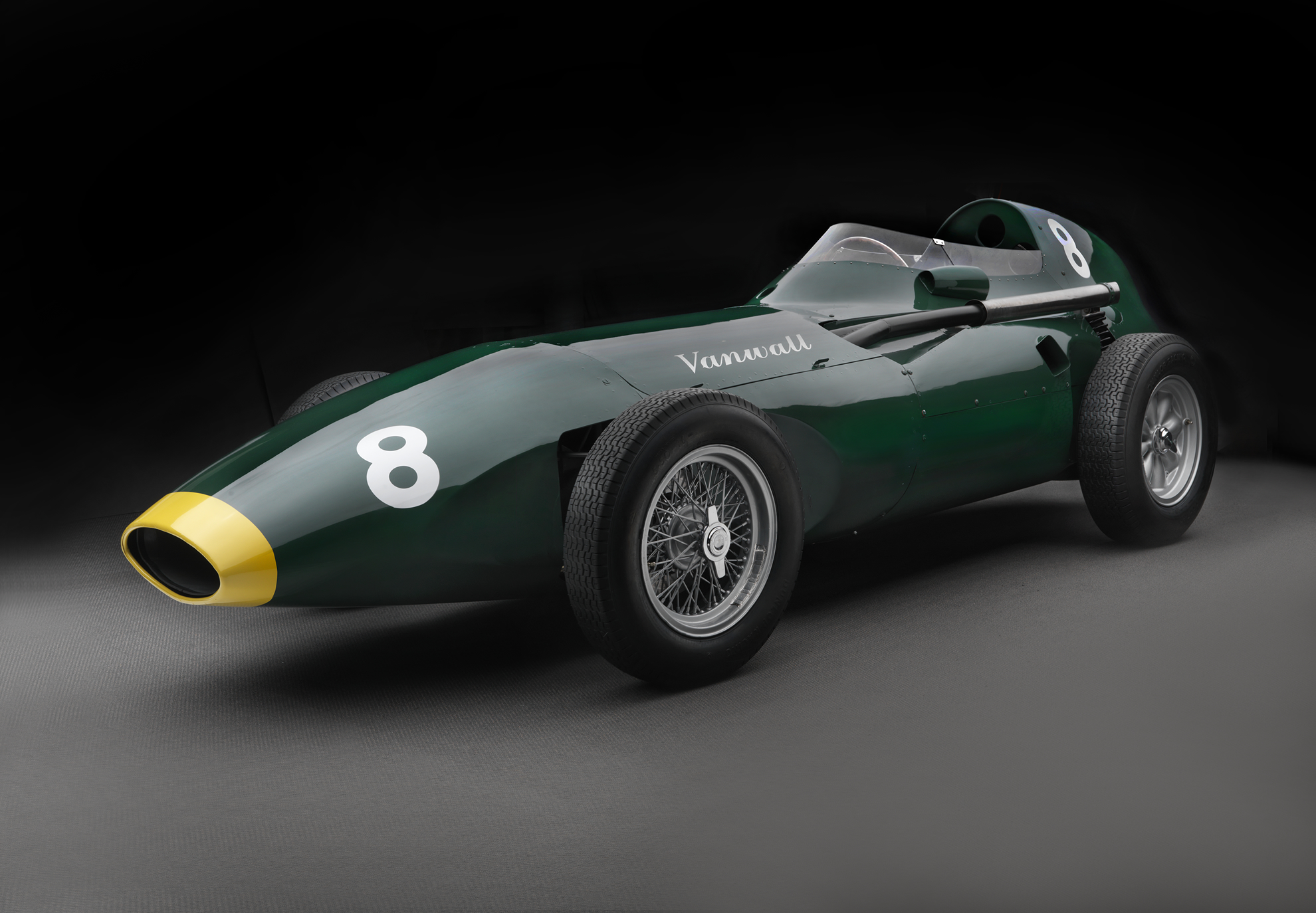 Vanwall returns with a £2million grand prix continuation car