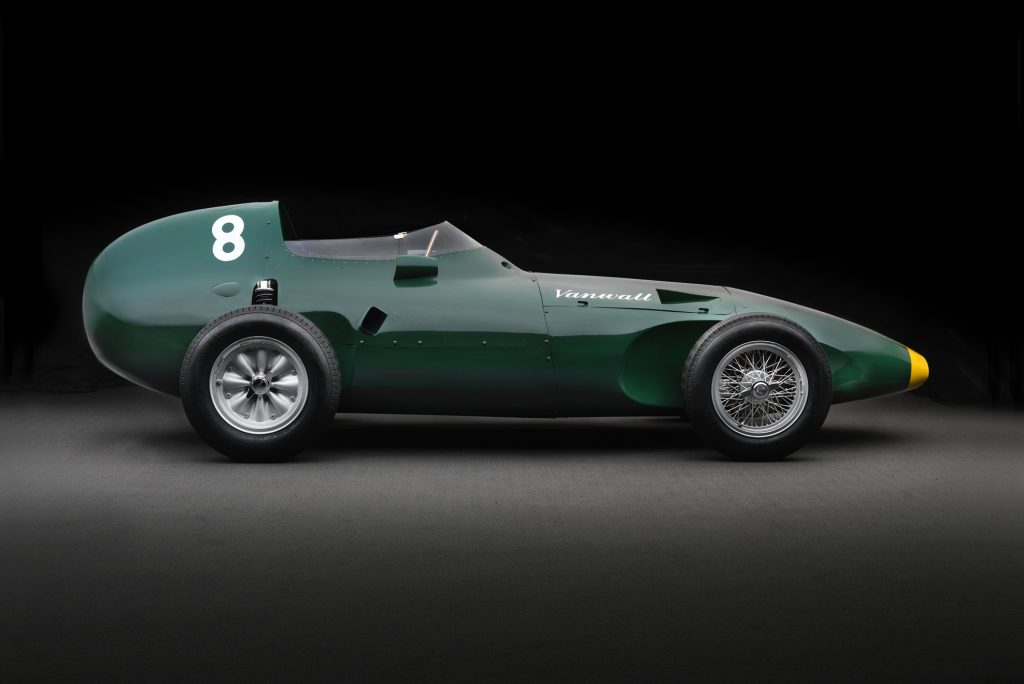 Vanwall returns with a £2 million grand prix continuation car