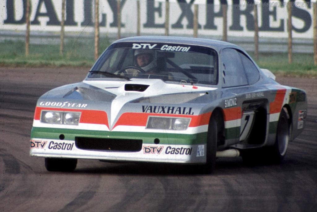Bill Blydenstein engineered the Vauxhall Firenza V8 'Baby Bertha'