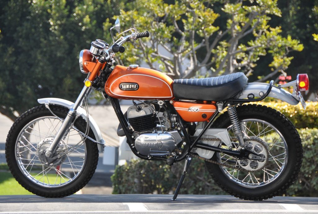 Seven collectible bikes_Yamaha DT250