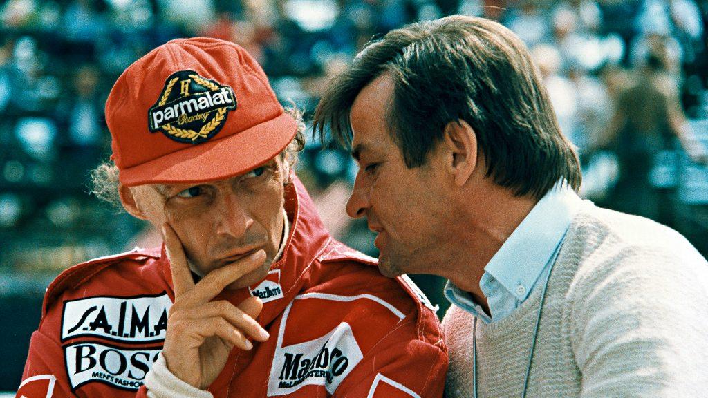 Hans Mezger and Niki Lauda