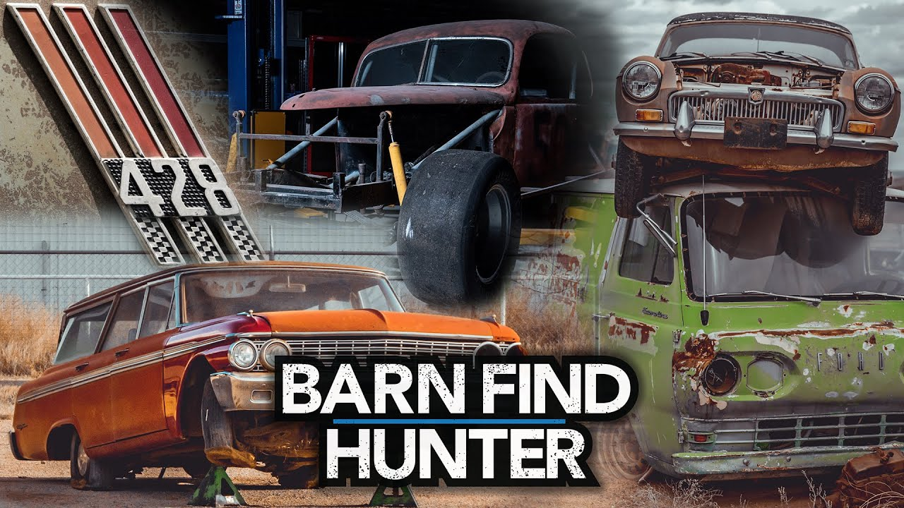 Tom Cotter picks his Top 10 finds on Barn Find Hunter